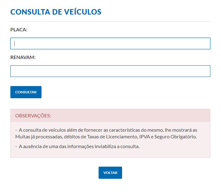 Consulta IPVA 2022 AP