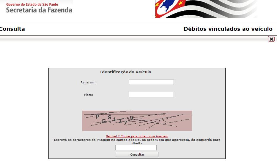Consulta IPVA 2022 SP