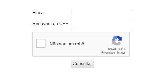 Consulta IPVA RO