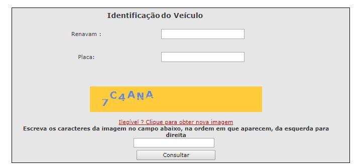 exemplo: consulta valor IPVA SP